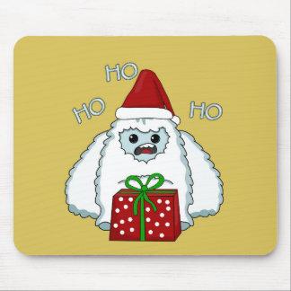 Yeti Xmas Mouse Pad
