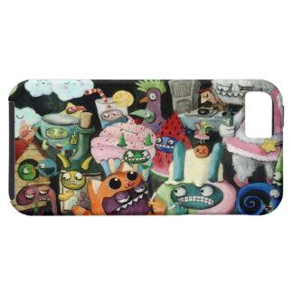 ¡Yeti y fiesta de los monstruos! iPhone 5 Protectores