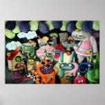 ¡Yeti y fiesta de los monstruos! Poster