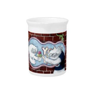 Yeti y su logotipo jarra para bebida