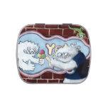 Yeti y su logotipo latas de dulces