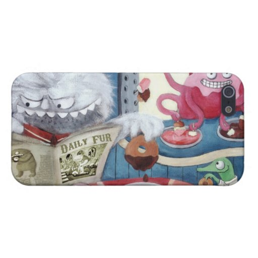 Yeti's Coffee in The Morning iPhone 5 Cover