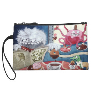 Yeti's Coffee in The Morning Wristlet