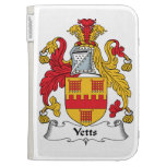 Yetts Family Crest Kindle 3 Case