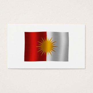 Yezidi Flag Business Card