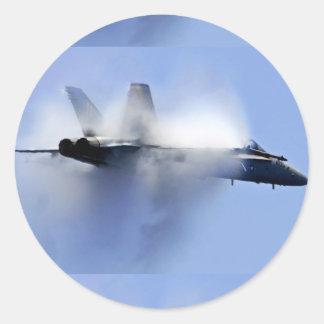 yf-22 raptor round sticker