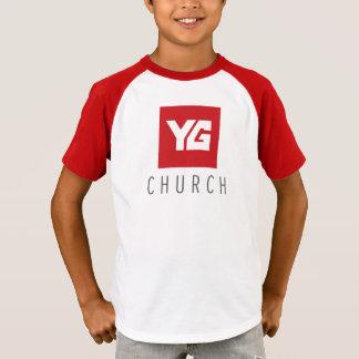 YG Church Kids Baseball T-Shirt