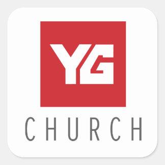 YG Church Sticker
