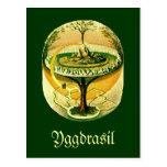 Yggdrasil, árbol de la vida tarjeta postal