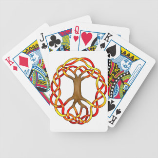 Yggdrasil/Fall Bicycle Playing Cards