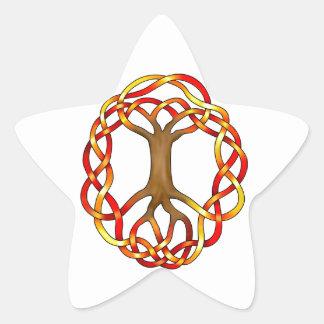 Yggdrasil/Fall Star Sticker