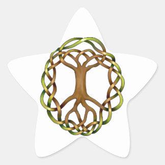 Yggdrasil Star Sticker