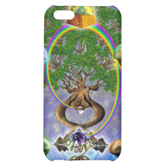 Yggdrasil, The World Tree iPhone4 Case Case For iPhone 5C
