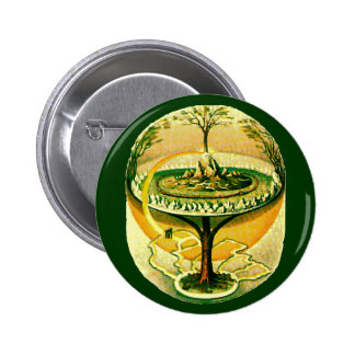 Yggdrasil, Tree Of Life Button