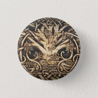 Yggdrasil - Tree of Life - Button Pin