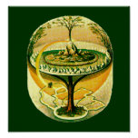 Yggdrasil, Tree Of Life Posters