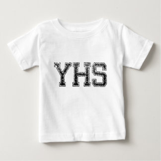 YHS High School - Vintage, Distressed Baby T-Shirt