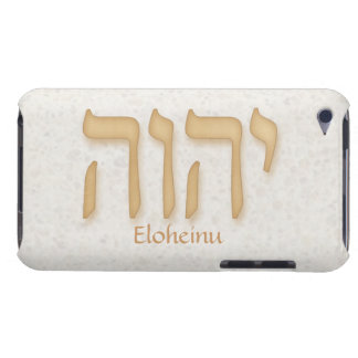 YHVH Eloheinu Modern Hebrew iPod Touch 4G iPod Touch Covers