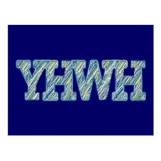YHWH-1 POSTCARD