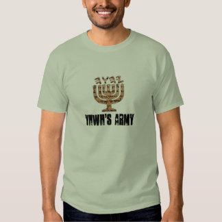YHWH logo1 copy, YHWH'S ARMY Tshirt