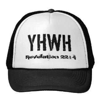 YHWH, revelación 22: 4 Gorras
