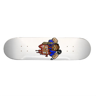 YiA logo SK8 Skateboard Deck