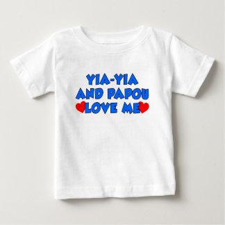 Yia-Yia and Papou Love Me Tee Shirts