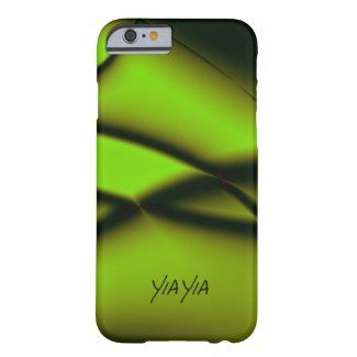 Yia Yia Design Green Barely There iPhone 6 Case