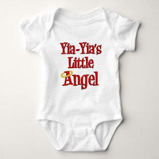 Yia-Yia's Little Angel Baby Bodysuit
