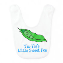 Yia-Yia's Little Sweet Pea Bib