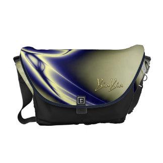 YiaYia Blue Persuasion Messenger Bag