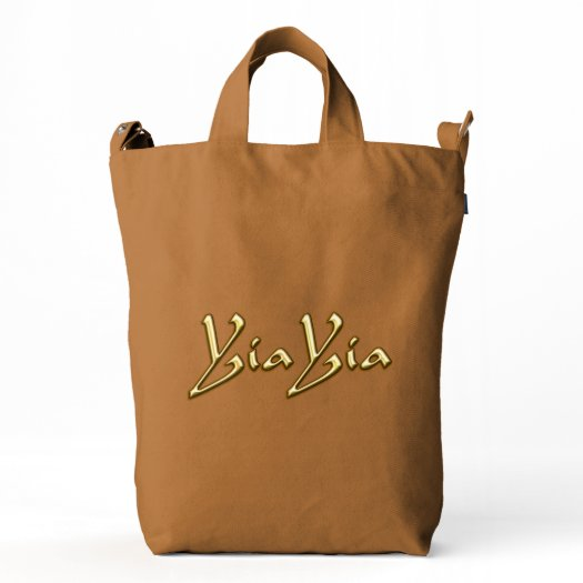 YiaYia Duck Canvas Bag