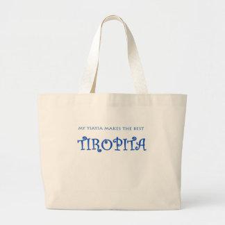 YIAYIA/TIROPITA LARGE TOTE BAG