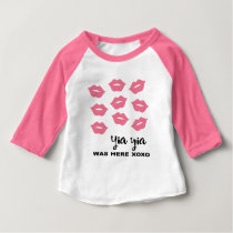 Yiayia was here baby T-Shirt
