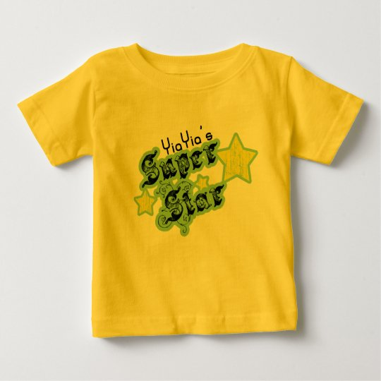 YiaYia's Super Star Baby T-Shirt