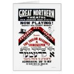 Yiddish Comedy Tailor 1940 WPA Card