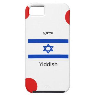 Yiddish Language And Israel Flag Design iPhone SE/5/5s Case