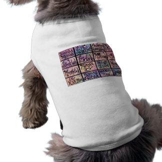 Yiddish Positive Phrases Dog Shirt