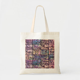 Yiddish Positive Phrases Tote Bag