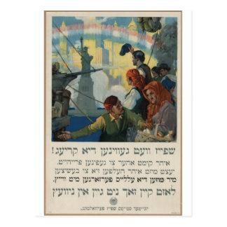 Yiddish_WWI_poster Tarjetas Postales