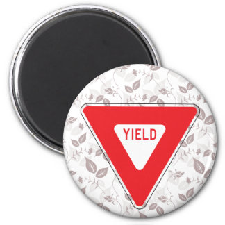 Yield 2 Inch Round Magnet