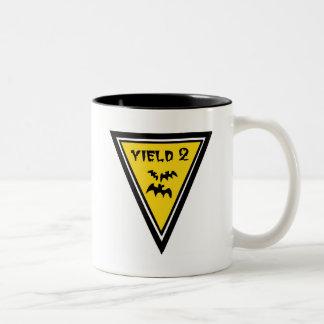Yield Low Flying Bats Two-Tone Coffee Mug