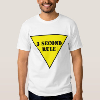 yield sign 3 Second Rule Shirt