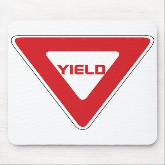 Yield Sign Mousepad