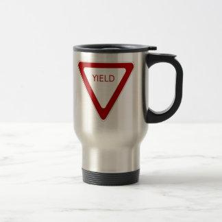 Yield Sign Mugs
