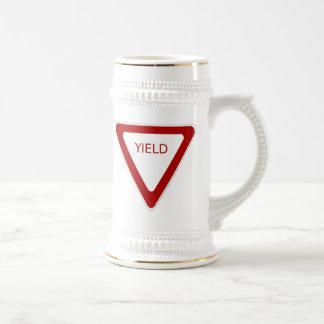 Yield Sign Mug