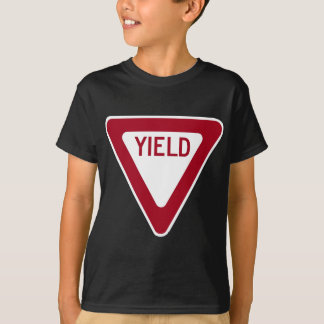 Yield Sign T-Shirt