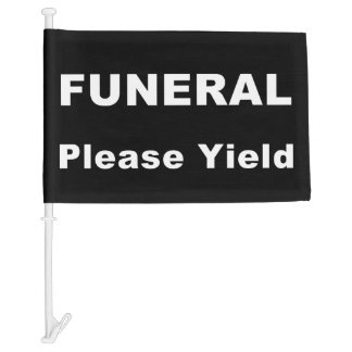Yield Standard Funeral Flag
