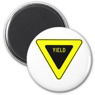 Yield Street Road Sign Symbol Caution Traffic Magnet