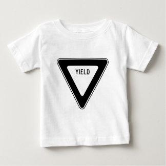 Yield Street Road Sign Symbol Caution Traffic Infant T-shirt
